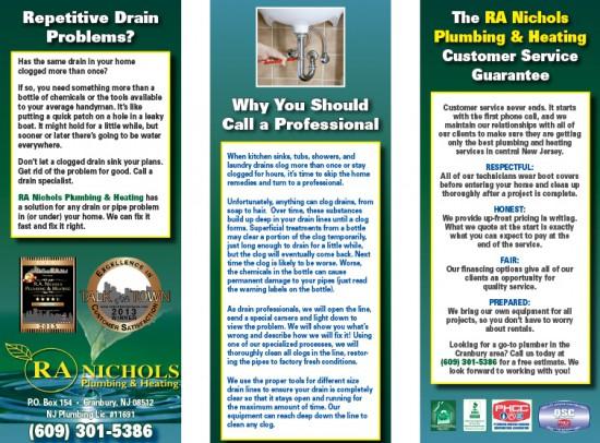 Nichols Plumbing Brochure